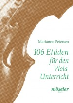 106 etudes for the viola lessons