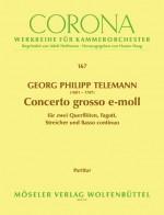 Concerto grosso E minor