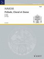 Prélude, Choral et Danse