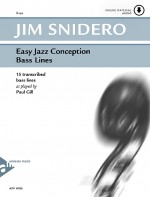 Easy Jazz Conception Bass Lines