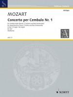 Concerto I D Major KV 107