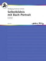Selbstbildnis mit Bach-Portrait