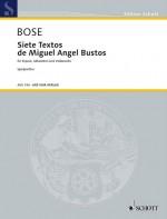 Siete Textos de Miguel Angel Bustos
