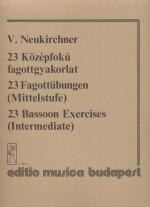 23 Bassoon Exercises