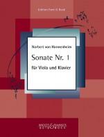 Sonate Nr. 1 für Viola und Klavier