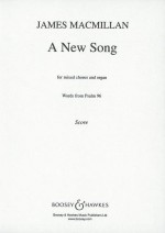 A New Song v-score/choral-score