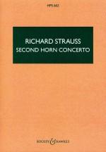 Horn Concerto No. 2 in E Flat Major o. Op. AV 132 (study score)
