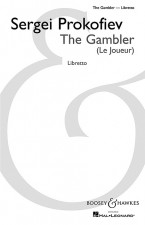 The Gambler op. 24 (vocal score)