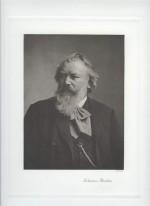 BRAHMS, Johannes - Photo (Portrait)