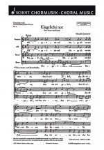 Fünf Chorlieder