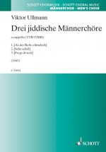 Three Yiddish pieces for male choir