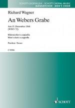 An Webers Grabe