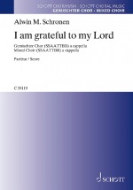 I am grateful to my Lord