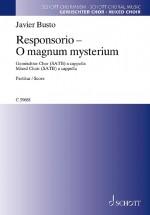 Responsorio - O magnum mysterium