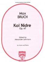 Kol Nidrei op. 47: violin & pn