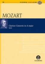 Clarinet Concerto A major KV 622 (study score)