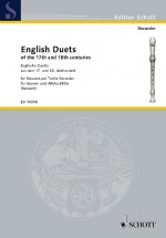 English Duets recorders