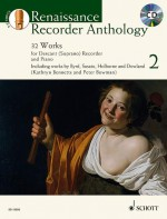 Renaissance Recorder Anthology 2 Vol. 2