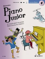 Piano Junior: Lesson Book 4 Vol. 4