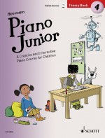Piano Junior: Theory Book 4 Vol. 4