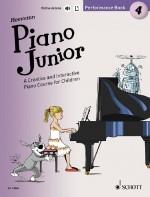 Piano Junior: Performance Book 4