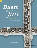 Duets for fun: Flutes