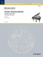 Six Pieces for Piano op. 118