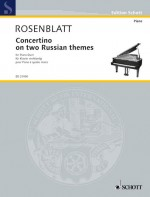 Concertino on two Russian themes