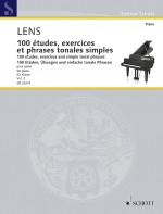 100 etudes, exercises and simple tonal phrases