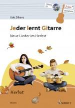 Jeder lernt Gitarre - Neue Lieder im Herbst