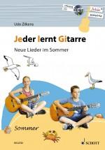 Jeder lernt Gitarre - Neue Lieder im Sommer