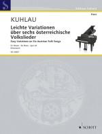 Easy Variations on six Austrian Folk Songs