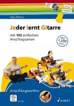 Jeder lernt Gitarre - mit 100 einfachen Anschlagsarten