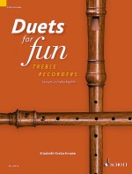Duets for fun: Treble Recorder