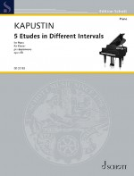 5 Etudes in Different Intervals op. 68