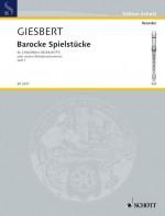 Barocke Spielstücke Book 1