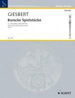 Barocke Spielstücke Book 2