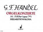 Organ Concerto No. 9 B Major op. 7/3 HWV 308