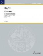 Concerto D minor BWV 1052 (score)