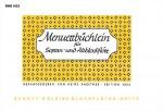 Menuettbüchlein
