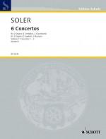 VI Conciertos de dos Organos obligados Book 1