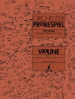 Test Pieces for Orchestral Auditions Violin Book 1