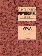 Test Pieces for Orchestral Auditions Viola