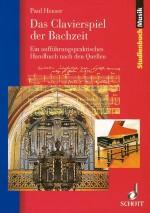 Das Clavierspiel der Bachzeit