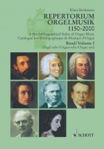 A Bio-bibliographical Index of Organ Music Book 1: Orgel solo