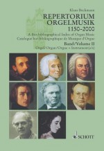 A Bio-bibliographical Index of Organ Music