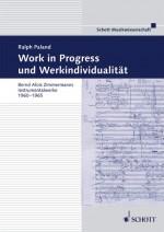 Work in Progress und Werkindividualität