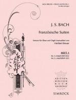 Französische Suiten BWV 812 and 813 Vol.1