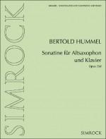 Sonatina for alto saxophone and piano