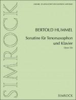 Sonatina for tenor saxophone and piano